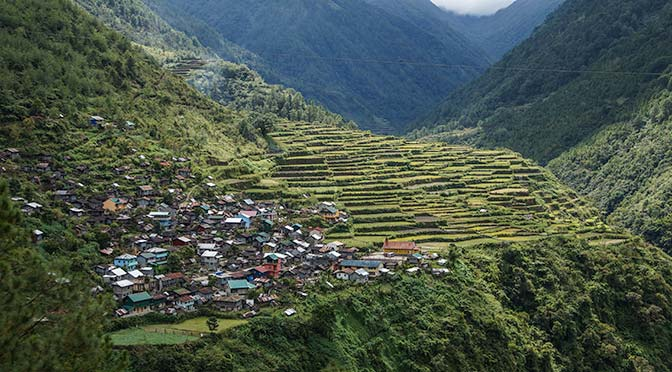 banaue philippines rice terrace