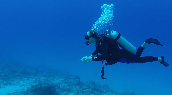 kona scuba diving