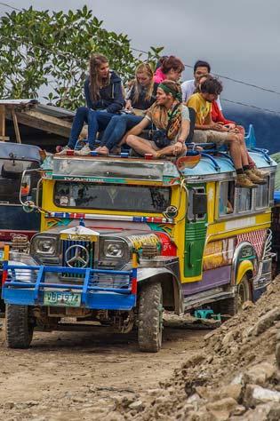Philippines jeepney.