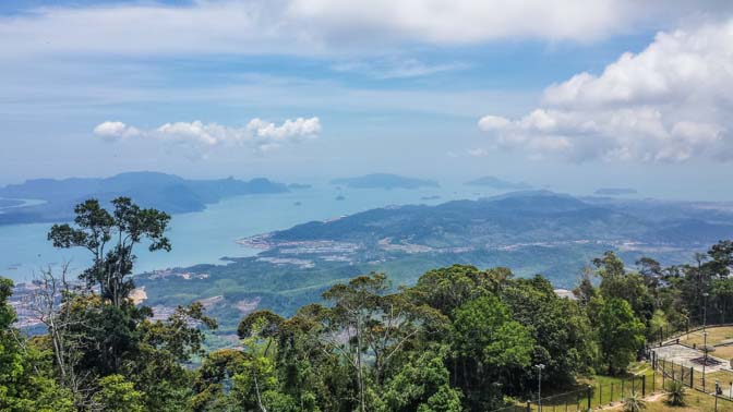 Another view from the highest peak in Langkawi.