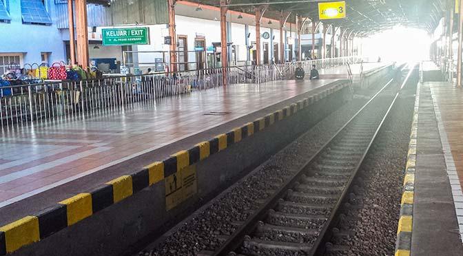 Yogyakarta train tracks