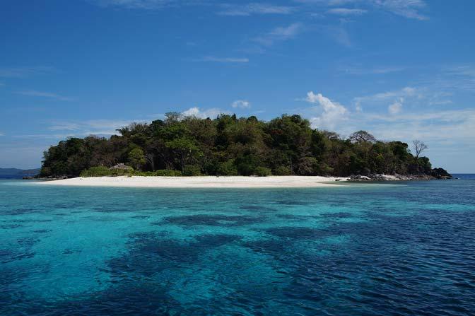 Remote Philippine island.