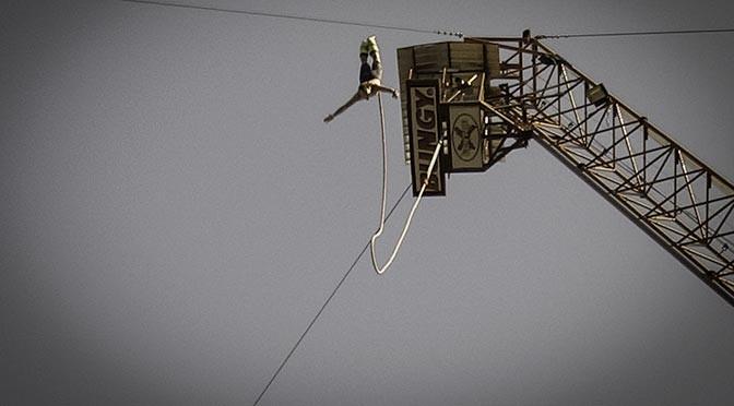 bungee jump Chiang Mai, Thailand