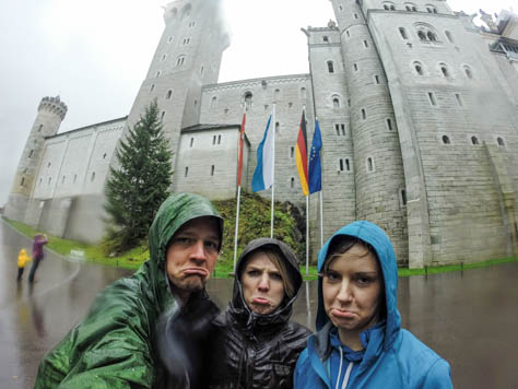 Rainy day at the ... Castle